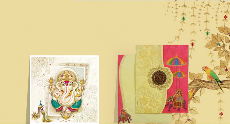 Hindu Invitation Cards